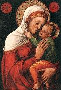Jacopo Bellini Madonna with child EUR oil painting artist