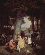 Jacques-Laurent Agasse An Agasse painting oil painting picture wholesale