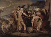 James Barry King Lear mourns Cordelia death oil painting artist