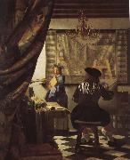 Jan Vermeer The moral of painting oil painting picture wholesale