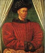 Jean Fouquet Portrait of Charles VII of France oil