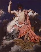 Jean-Auguste-Dominique Ingres jupiter och thetis oil painting picture wholesale