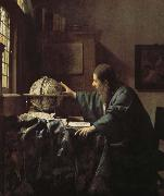 Johannes Vermeer Astronomers oil painting picture wholesale