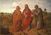 Joseph von Fuhrich The walk to Emmaus oil painting picture wholesale