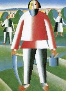 Kasimir Malevich In the grass field oil painting picture wholesale