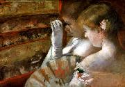 Mary Cassatt A Corner of the Loge oil painting picture wholesale