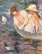 Mary Cassatt Summertime oil painting picture wholesale