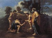 Nicolas Poussin Even in Arcadia I have oil painting picture wholesale