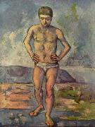 Paul Cezanne Bather oil painting picture wholesale