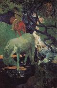 Paul Gauguin Whitehorse oil painting picture wholesale