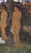 Paul Gauguin Adam Eve oil painting picture wholesale