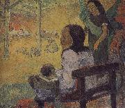 Paul Gauguin Baby oil painting picture wholesale