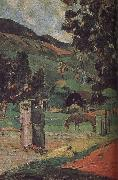 Paul Gauguin Ma and scenery oil painting picture wholesale