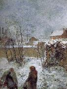 Paul Gauguin Snow oil painting picture wholesale
