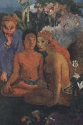 Paul Gauguin Savage s story oil painting picture wholesale