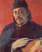 Paul Gauguin Take a palette of self-portraits oil painting picture wholesale