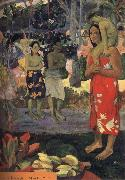Paul Gauguin Maria visits oil painting picture wholesale