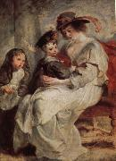 Peter Paul Rubens Helena Darfur Mans and her children s portraits oil painting picture wholesale