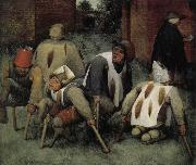 Pieter Bruegel Beggars who oil painting picture wholesale