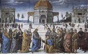 Pietro Perugino Christian kingdom of heaven will be the key to St. Peter's oil painting picture wholesale