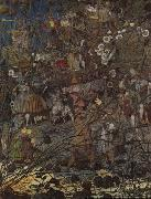 Richard Dadd The Fairy Feller Master Stroke by Richard Dadd oil painting picture wholesale