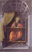 Sandro Botticelli st.augustine in the cell oil painting picture wholesale