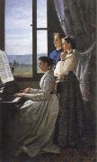 Silvestro lega the lyric (ll canto di unostornello) oil painting picture wholesale