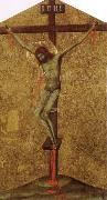 Simone Martini Christ on the Cross oil painting picture wholesale