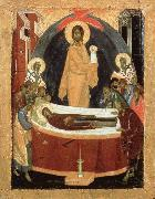 THEOPHANES the Greek Dormition of the virgin oil painting artist