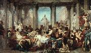 Thomas Couture Romans in the Decadence of the Empire oil painting picture wholesale