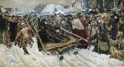 Vasily Surikov Mo Luozuo her aristocratic women oil painting picture wholesale