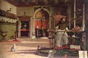 Vittore Carpaccio vision of st.augustine oil painting picture wholesale