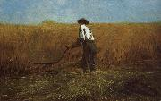 Winslow Homer New farmland veterans oil painting reproduction