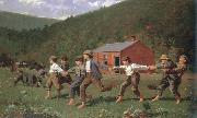 Winslow Homer snap the whip oil painting picture wholesale