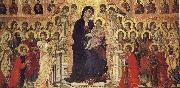 unknow artist Throne of the Virgin and Child with Saints oil painting picture wholesale