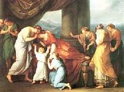 Angelica Kauffmann Death of Alcestis oil painting picture wholesale