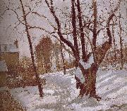 Camille Pissarro Road Vehe s peaceful road Sweden oil painting artist