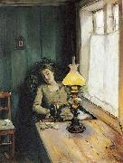 Christian Krohg Trett oil painting picture wholesale