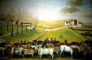 Edward Hicks The Cornell Farm oil painting on canvas