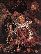 Frans Hals Shrovetide Revellers WGA oil painting picture wholesale