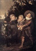 Frans Hals Group of Children WGA Sweden oil painting reproduction