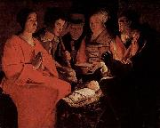 Georges de La Tour Nativity, Louvre oil painting picture wholesale