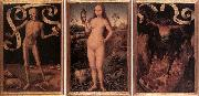 Hans Memling Triptych of Earthly Vanity and Divine Salvation oil painting picture wholesale