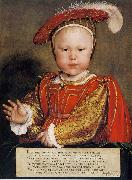 Hans holbein the younger Portrait of Edward VI as a Child Sweden oil painting reproduction