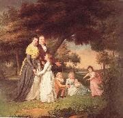 James Peale The Artist and His Family oil painting picture wholesale
