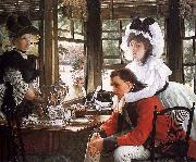 James Tissot Bad News oil painting picture wholesale