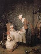 Jean Baptiste Simeon Chardin Fasting prayer oil painting picture wholesale