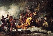 John Trumbull The Death of Montgomery in the Attack on Quebec oil painting picture wholesale
