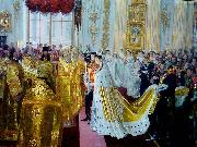 Laurits Tuxen Tuxen Wedding of Tsar Nicholas II oil painting artist