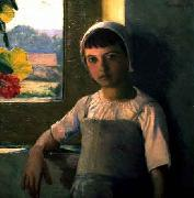 Lilla Cabot Perry La Petite AngEle, oil painting picture wholesale